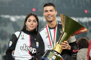 Moglie calciatore Georgina Rodriguez e Cristiano Ronaldo